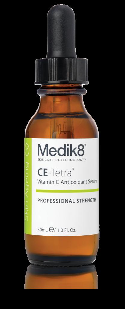 Сыворотка с антиоксидантами CE-Tetra® Medik8 на основе витамина С, который предотвращает появление признаков старения кожи и борется с уже имеющимися. Цена по запросу
