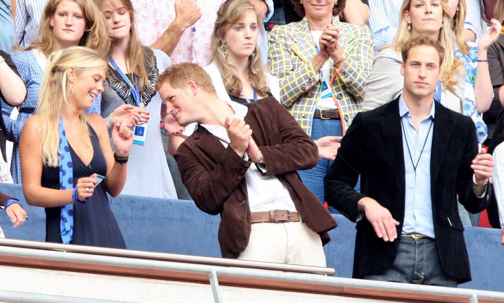 Челси Дэви и принц Гарри