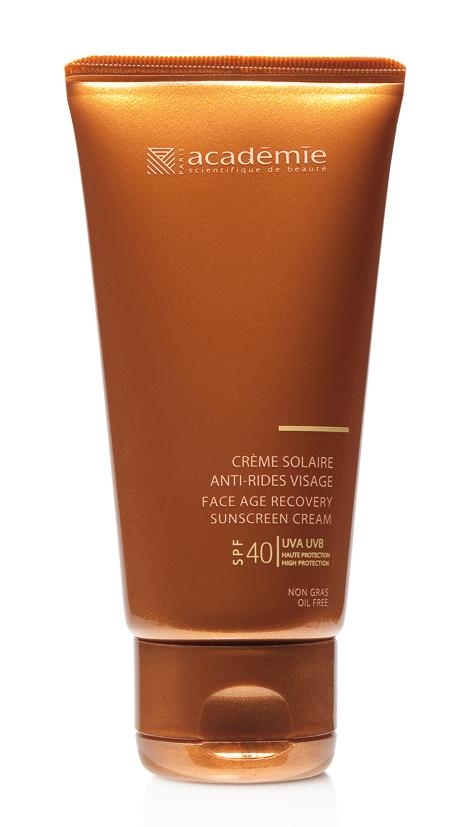 Солнцезащитный регенерирующий крем SPF 40 Académie Scientifique de Beauté - идеальный продукт для красивого и ровного загара без фотостарения. 3390 р.