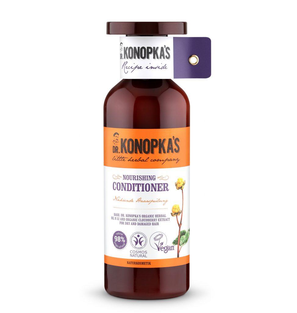 Кондиционер Dr. Konopka's не утяжеляет, отлично заглаживает волосы и делает их более послушными. Цена по запросу
