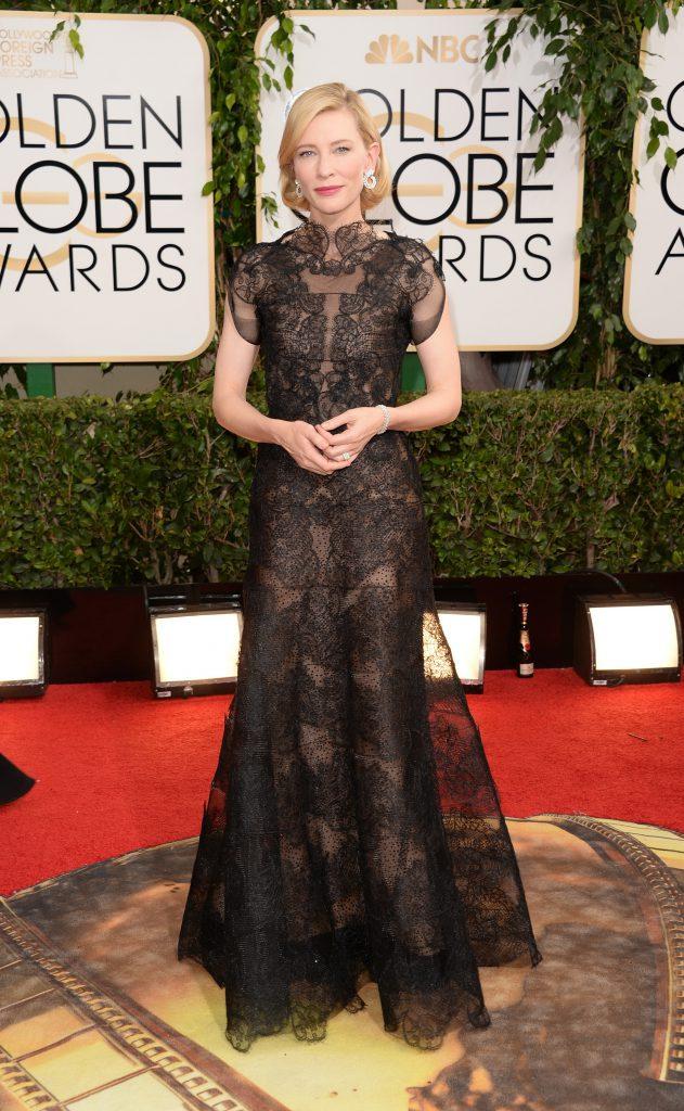 Кейт Бланшетт на «Золотом глобусе»