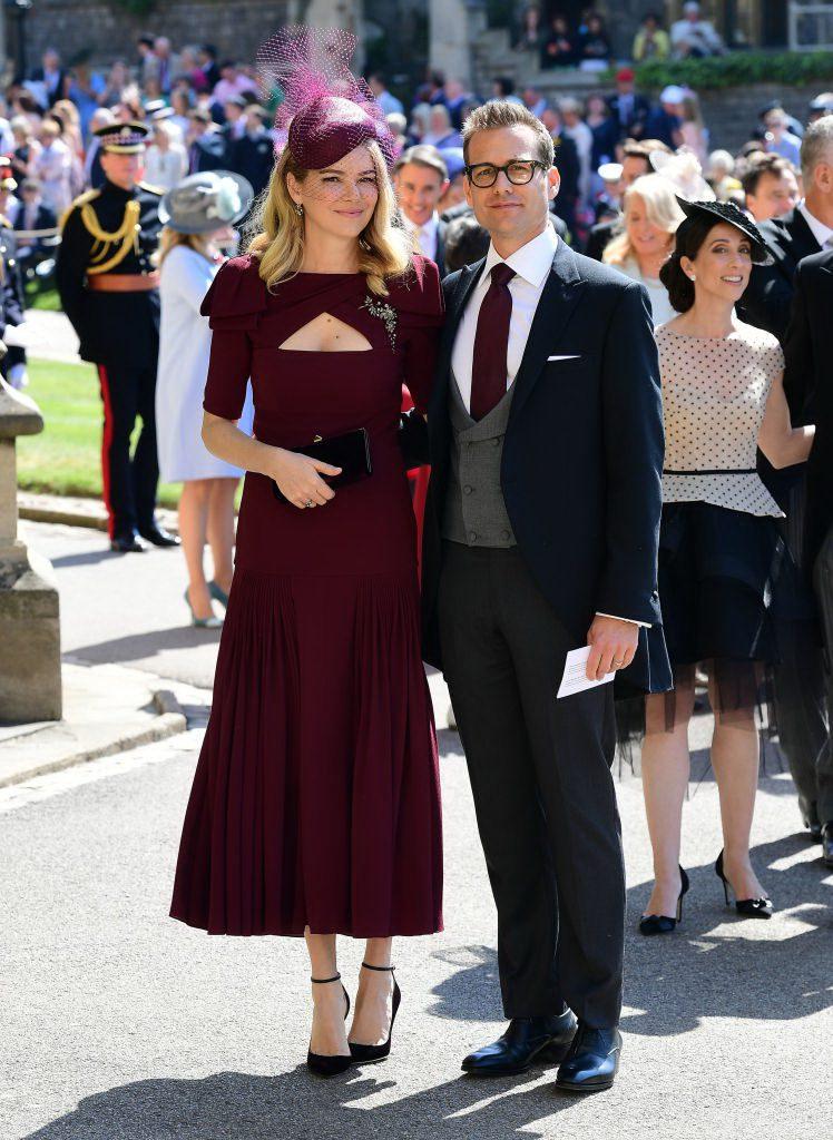 Гэбриель Махт с женой Джасиндой Барретт