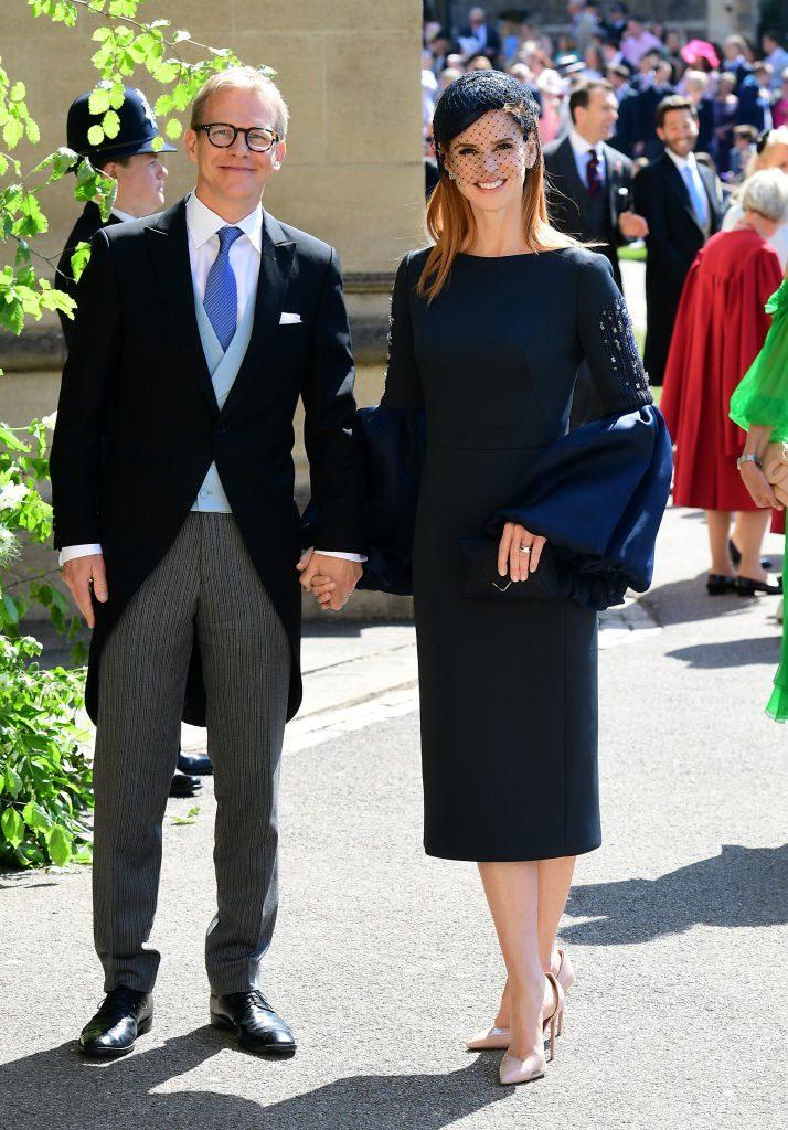 Сара Рафферти с мужем