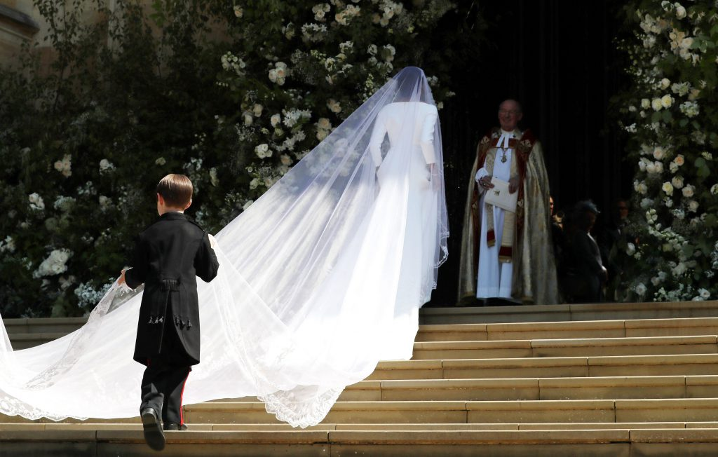 Платье Меган Маркл Givenchy