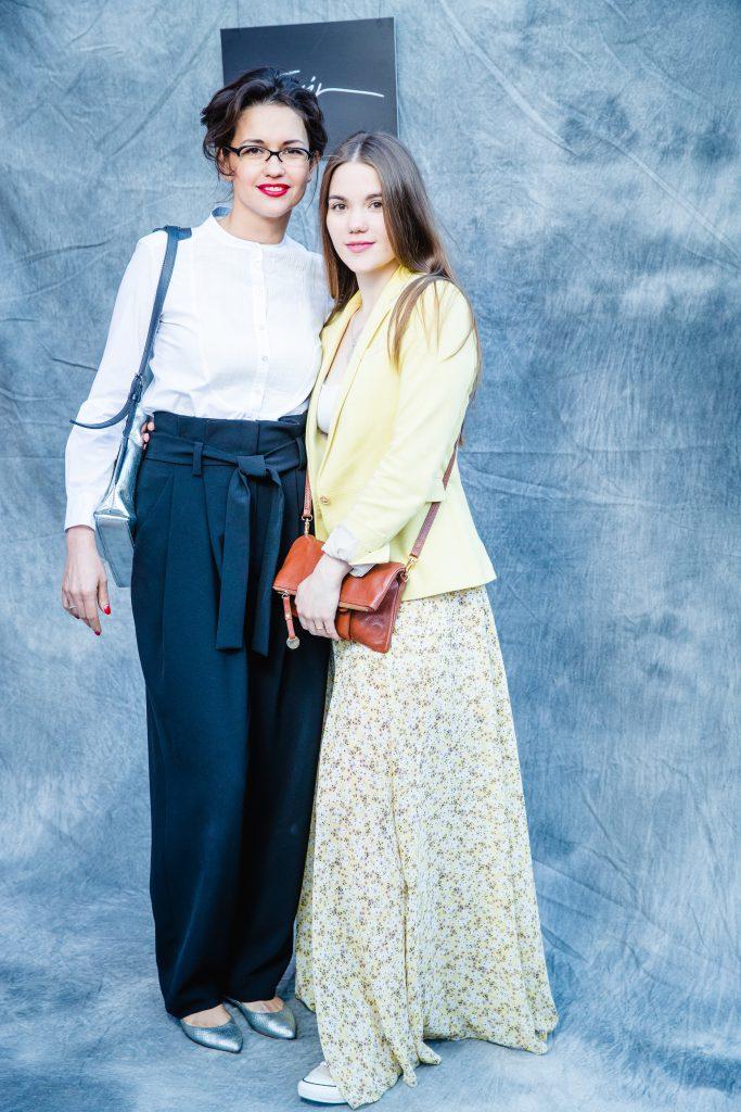Инесса Москвичева с дочкой