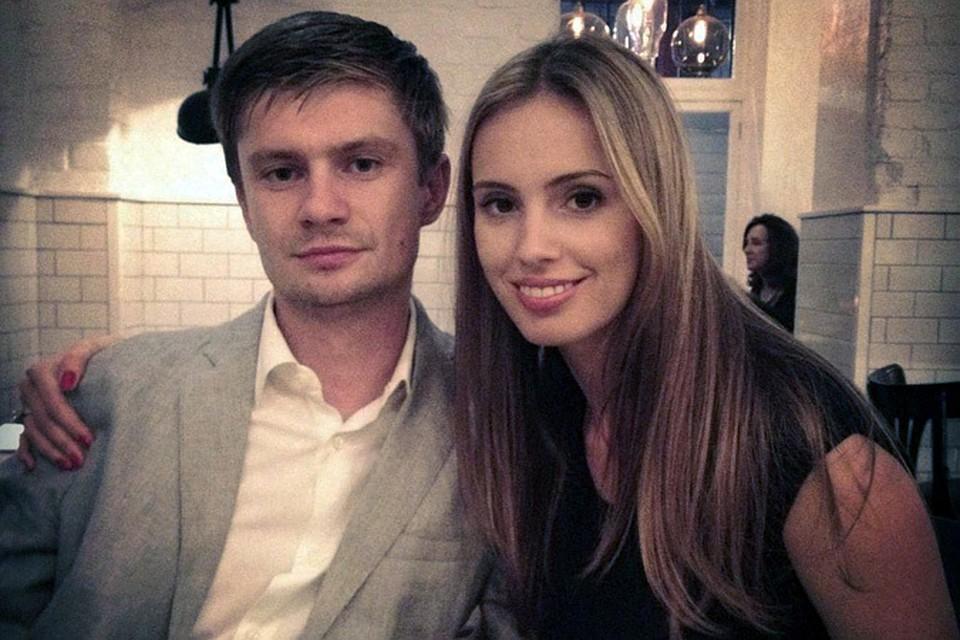 Антон Федун с женой Алиной