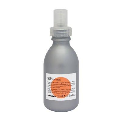 Солнцезащитное увлажняющее молочко для волос Davines SU Hair mil удобно использовать после посещения бассейна и летом, когда стоит невыносимая жара. Цена по запросу