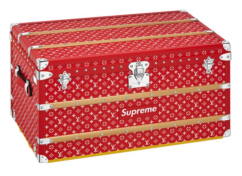 чемодан Supreme x Louis Vuitton