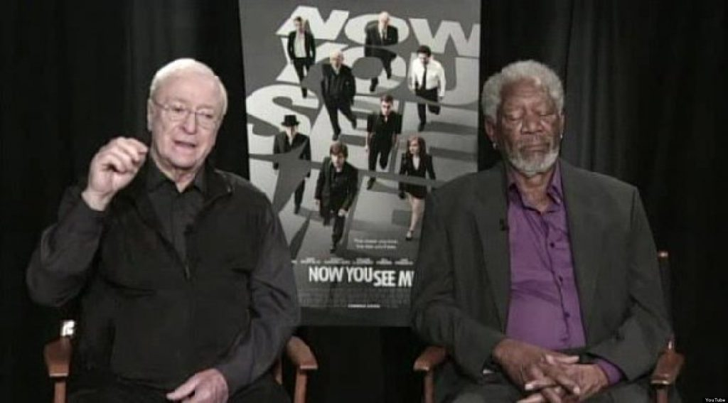А Морган Фриман задремал в прямом эфире ТВ, пока промотировал свой фильм «Иллюзия обмана 2»