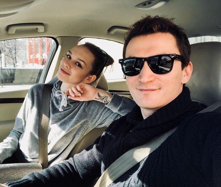 Диана Шурыгина и ее муж Андрей Шлягин