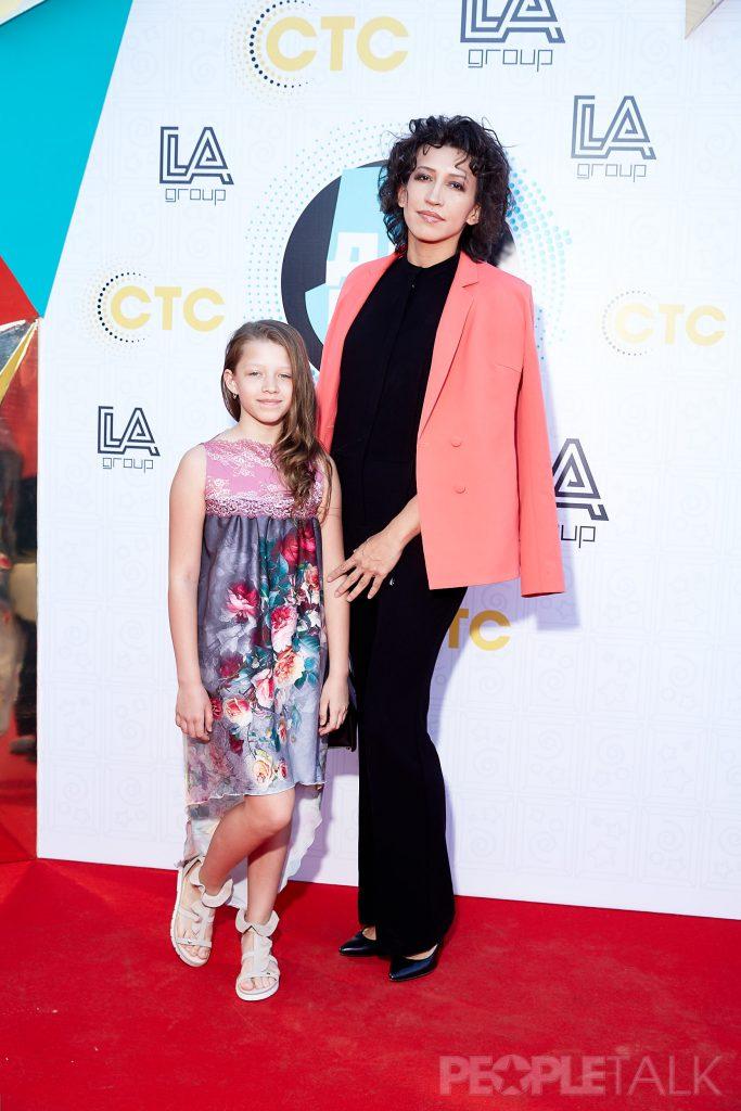 Елена Борщева с дочкой Мартой
