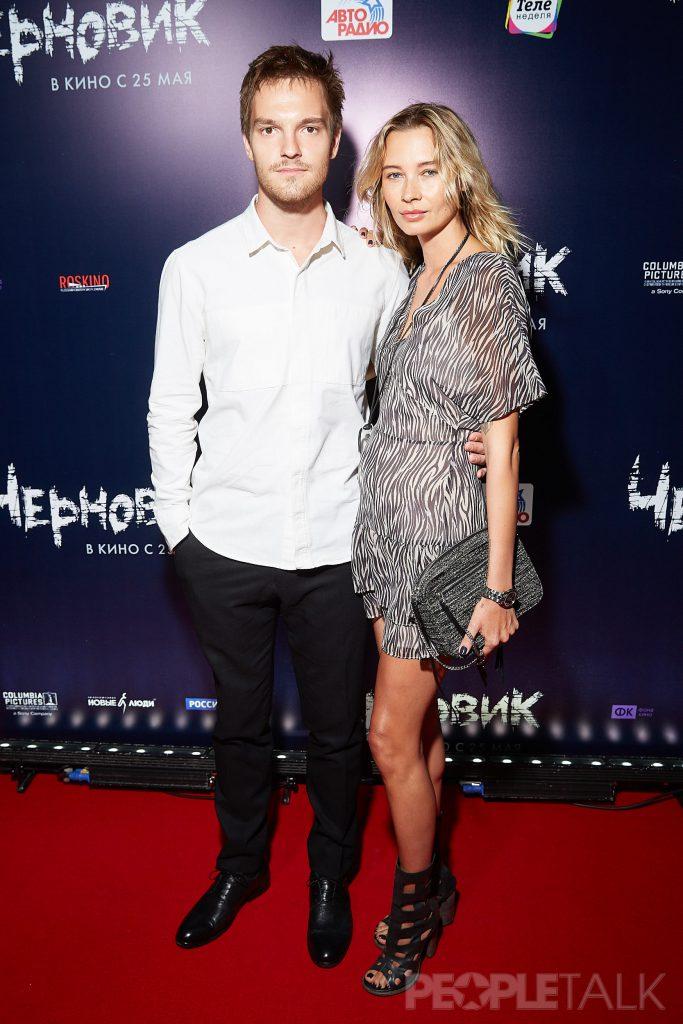 Никита Волков с девушкой
