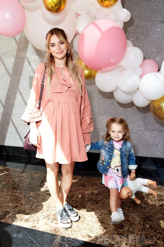 Анна Хилькевич с дочерью