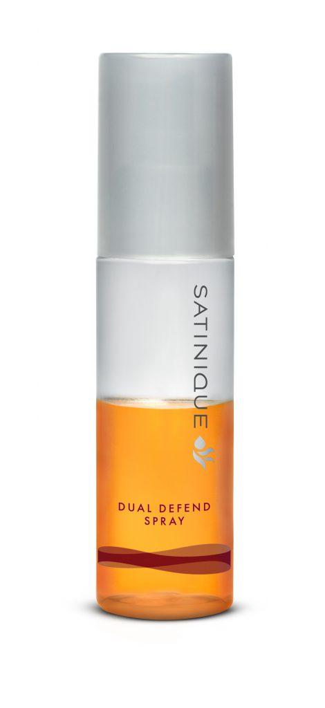 Спрей для волос «двойная защита» SATINIQUE™ восстанавливает естественный защитный слой волос любого типа и предохраняет их от вредного воздействия горячей укладки, неблагоприятных факторов окружающей среды, ультрафиолетового излучения. 1180 р.