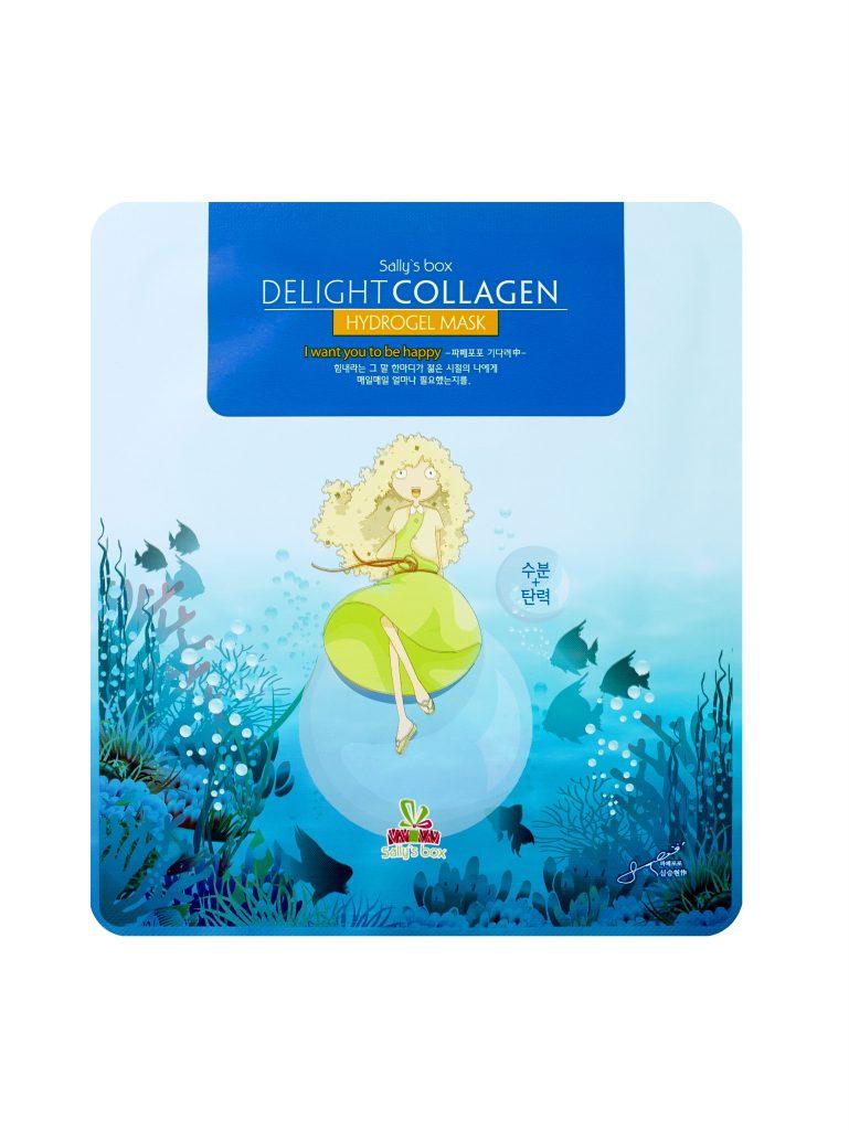 Маска с коллагеном «Море удовольствий», Sally's Box пригодится тебе в отпуске, особенно эффективна после приема солнечных ванн! 398 р.
