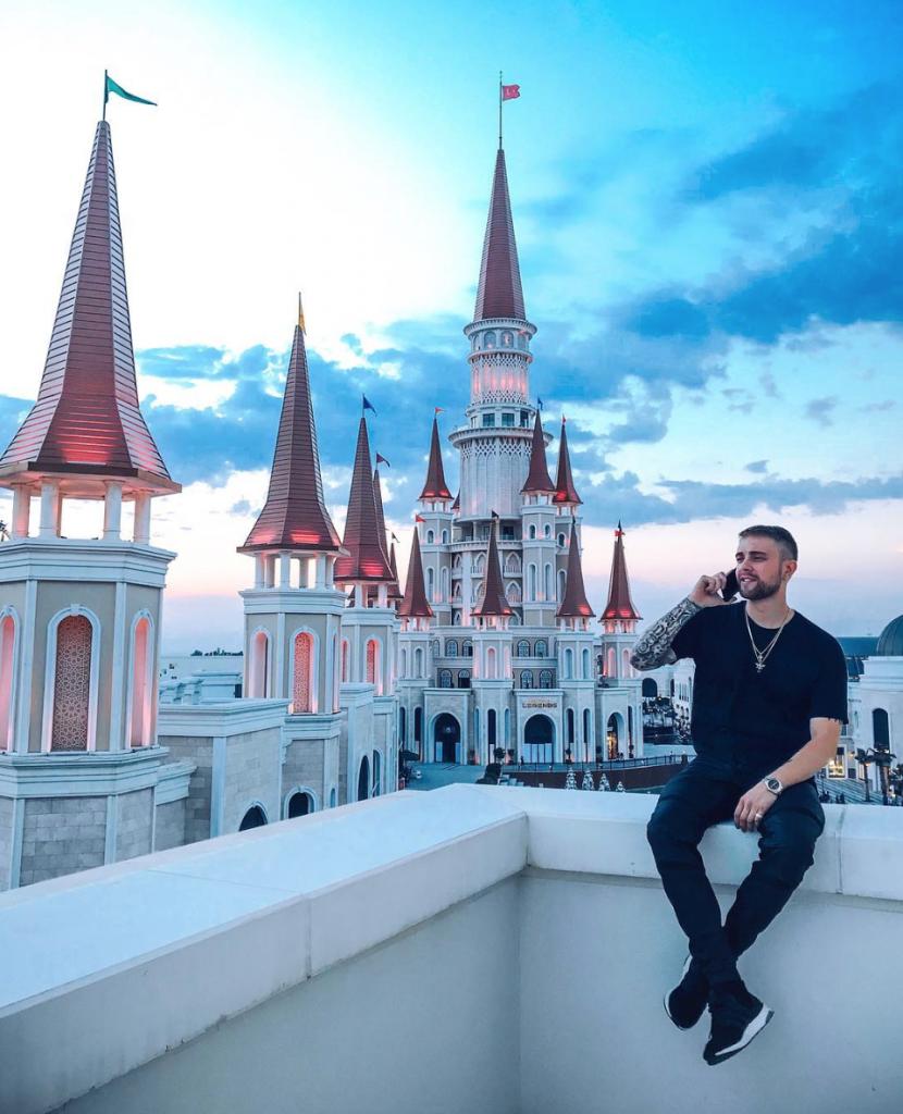 Егор Крид в Турции