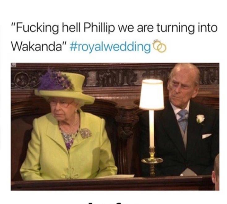 -Филипп, мы превращаемся в чертову Ваканду!