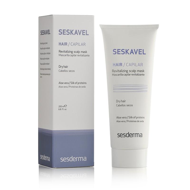 Ревитализирующая маска для волос Seskavel Revitalizing Scalp Mask, Sesderma - sos-помощь волосам в трудную минуту! Цена по запросу