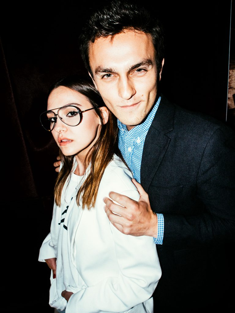 Софи Елисеева и Петр Илингин