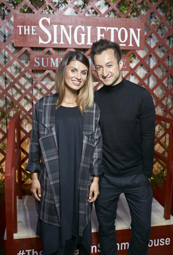 Юлия Квин с мужем