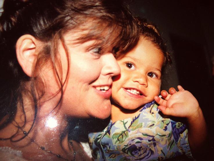 Зендая с мамой