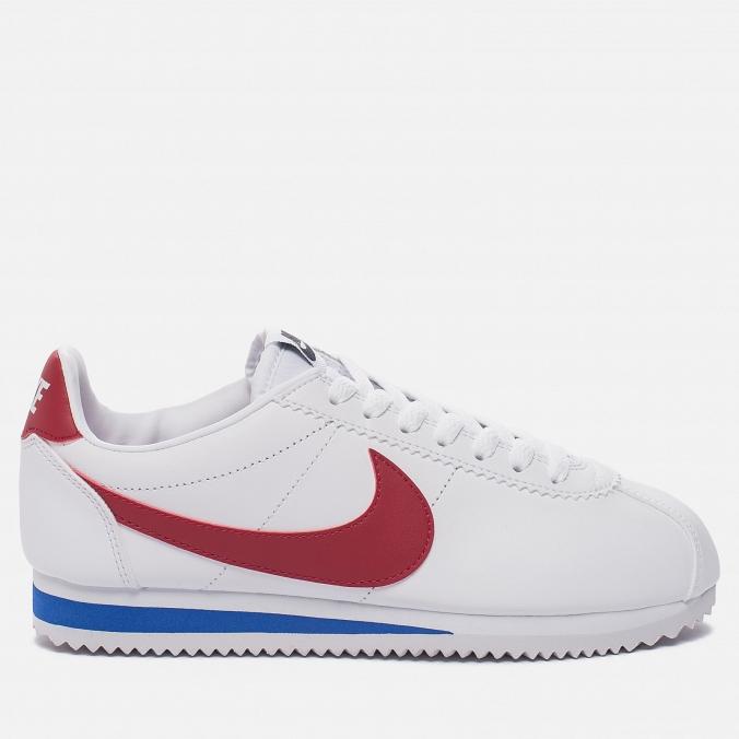 Nike Classic Cortez Leather White/Varsity Red/Varsity Royal, 6290 p. (brandshop.ru)