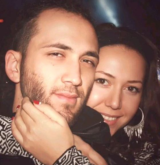 Карина с мужем