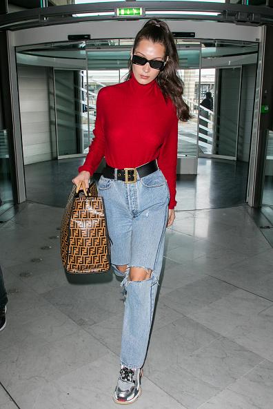 Белла Хадид в джинсах Miss Sixty, 12360 руб.