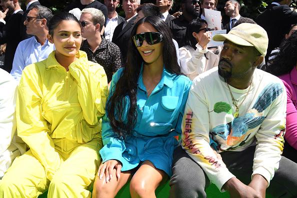 Ким, Кайли и Канье