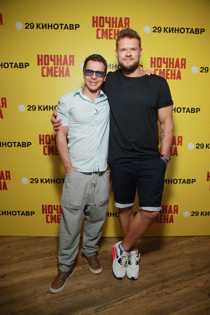 Павел Деревянко и Владимир Яглыч