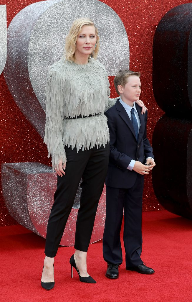 Кейт Бланшетт с сыном