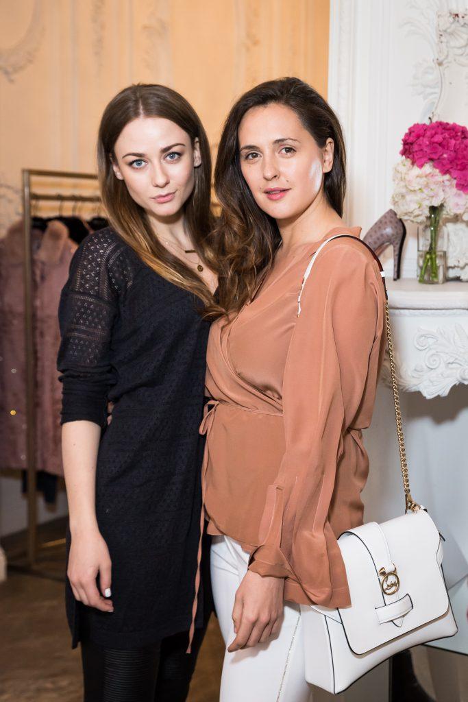 Ингрид Олеринская и Мария Шумакова
