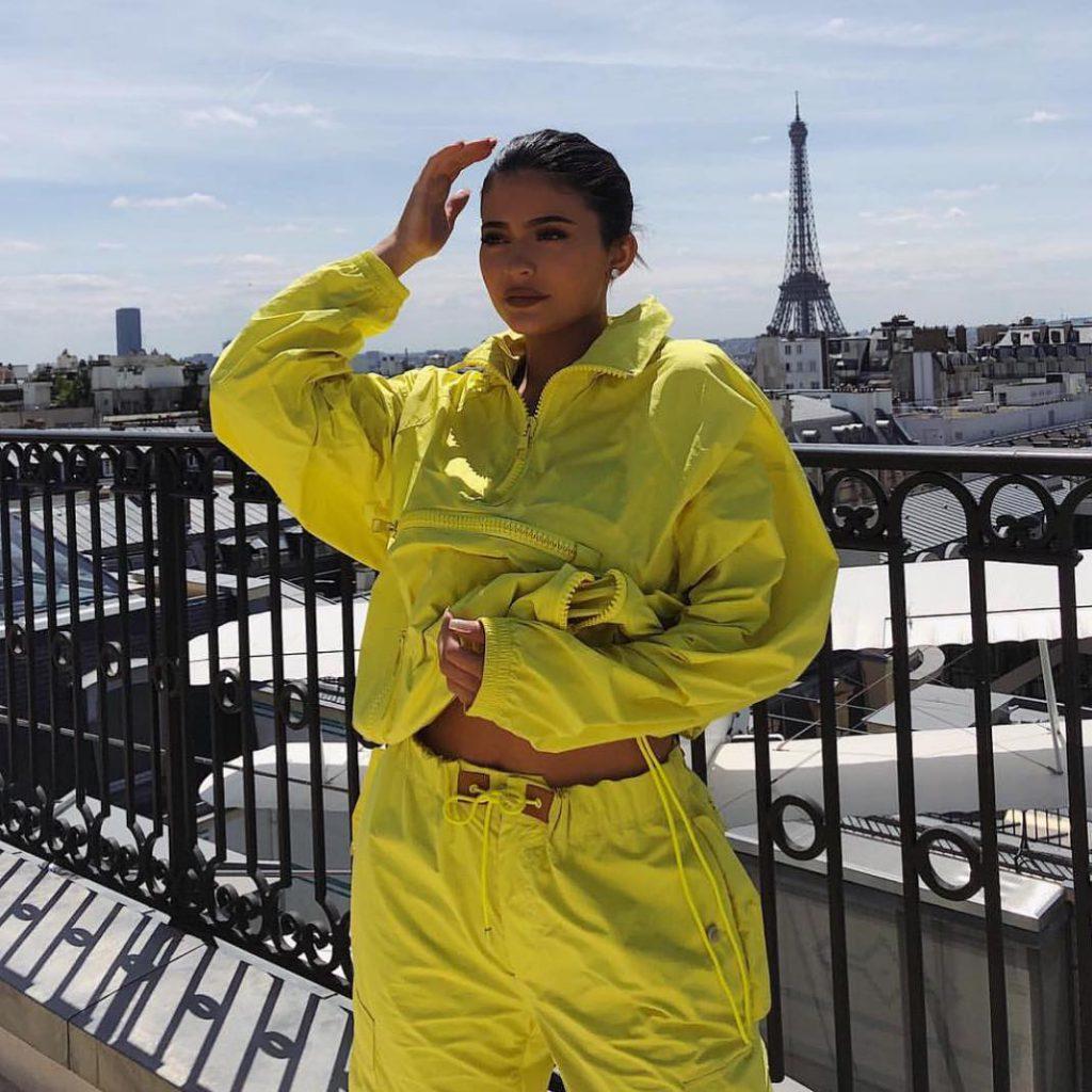 Кайли Дженнер в Louis Vuitton