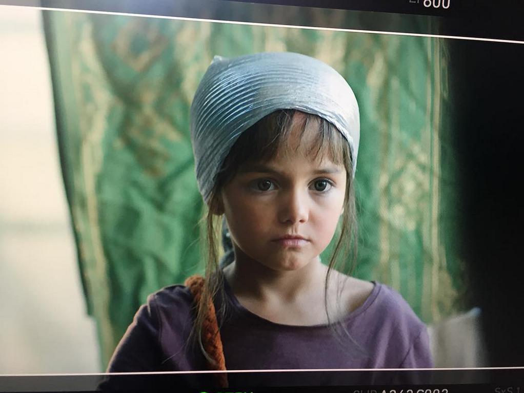 Марта на съемках фильма «Другие»; @marta_timofeeva_actor_new