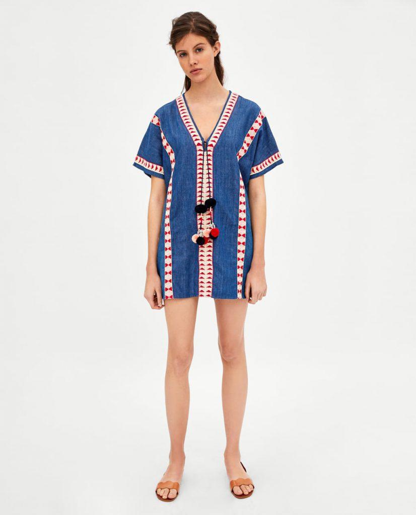 Платье Zara, 1 999 р. (zara.com)