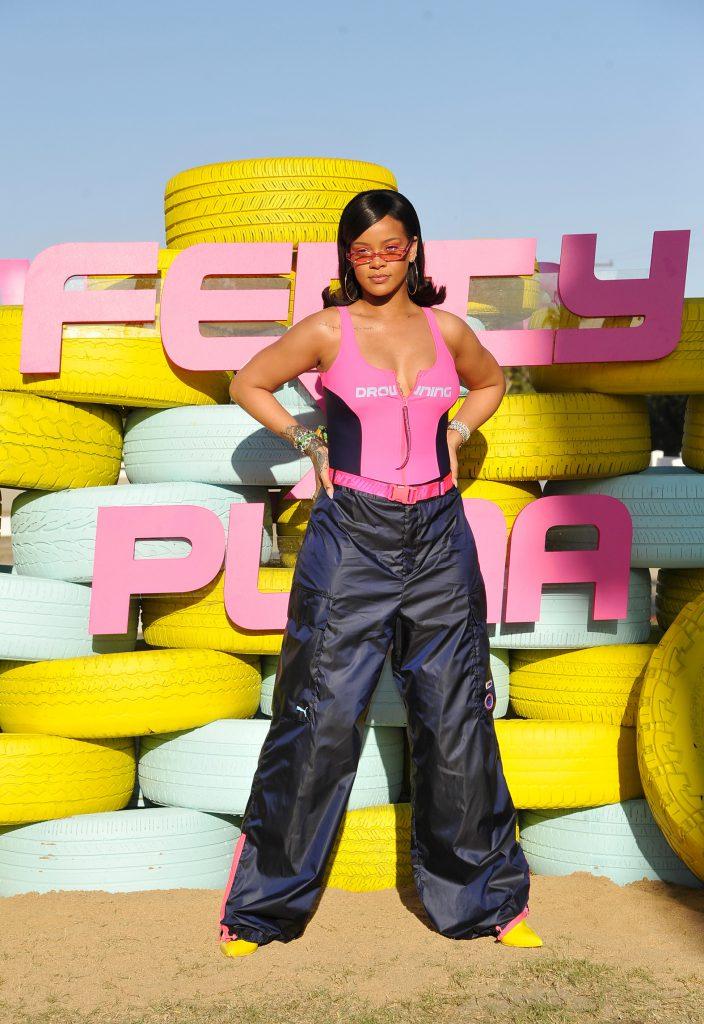 Рианна в Fenty x Puma