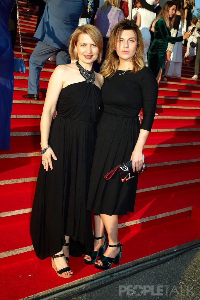Наталья Шталева (Sony Pictures) и шеф-редактор PEOPLETALK Оксана Кравчук