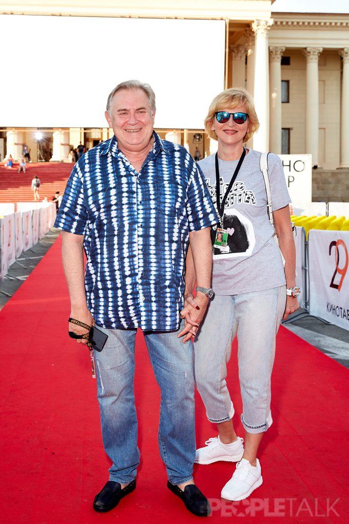 Юрий Стоянов с супругой