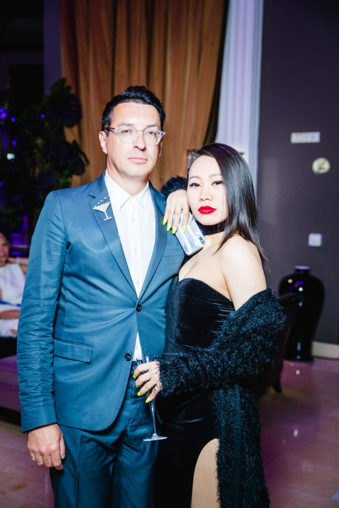 Стас Тыркин и Ян Гэ