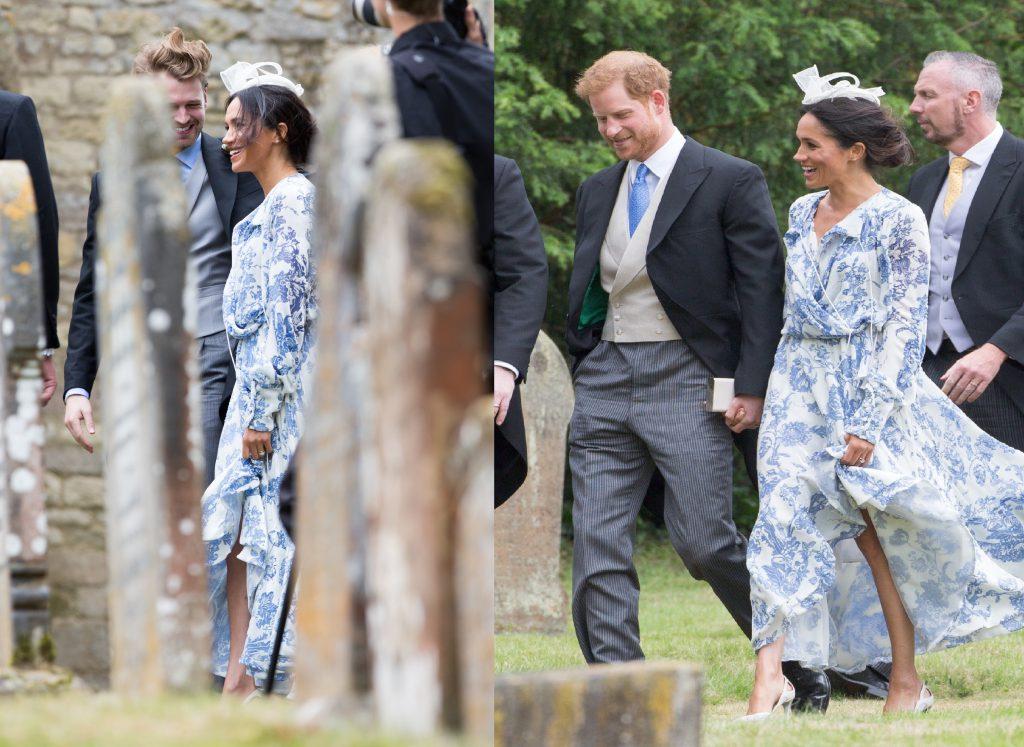 Принц Гарри и Меган Маркл на свадьбе