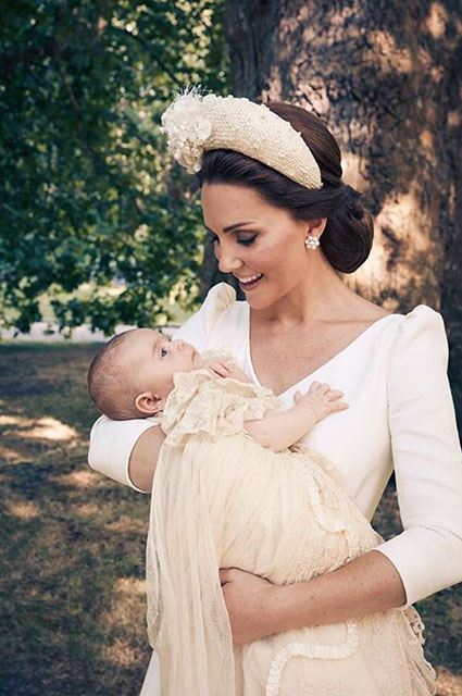 Кейт Миддлтон с принцем Луи