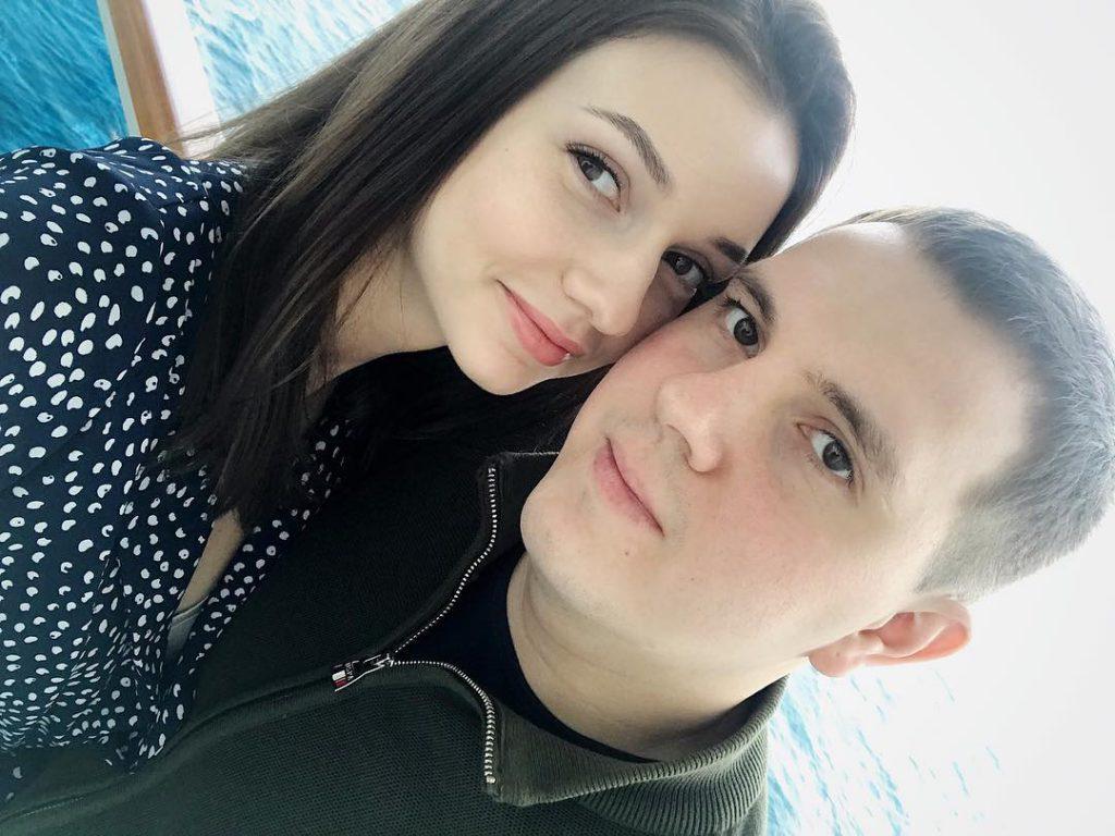 Дарья Канануха с мужем