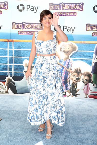 Селена Гомес на премьере мультфильма «Монстры на каникулах 3: Море зовёт»