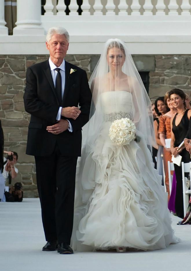 Билл Клинтон с дочерью Челси Клинтон, 2010 год