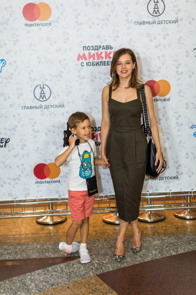 Катерина Шпица с сыном Германом