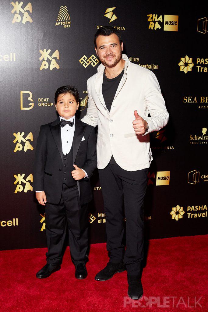 Эмин Агаларов с сыном