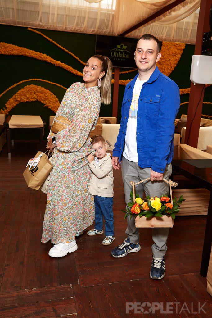 Алексей Теревков с семьей