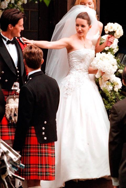 Кристин Дэвис в роли Шарлотты Йорк, сериал  «Секс в большом городе», 2000 год