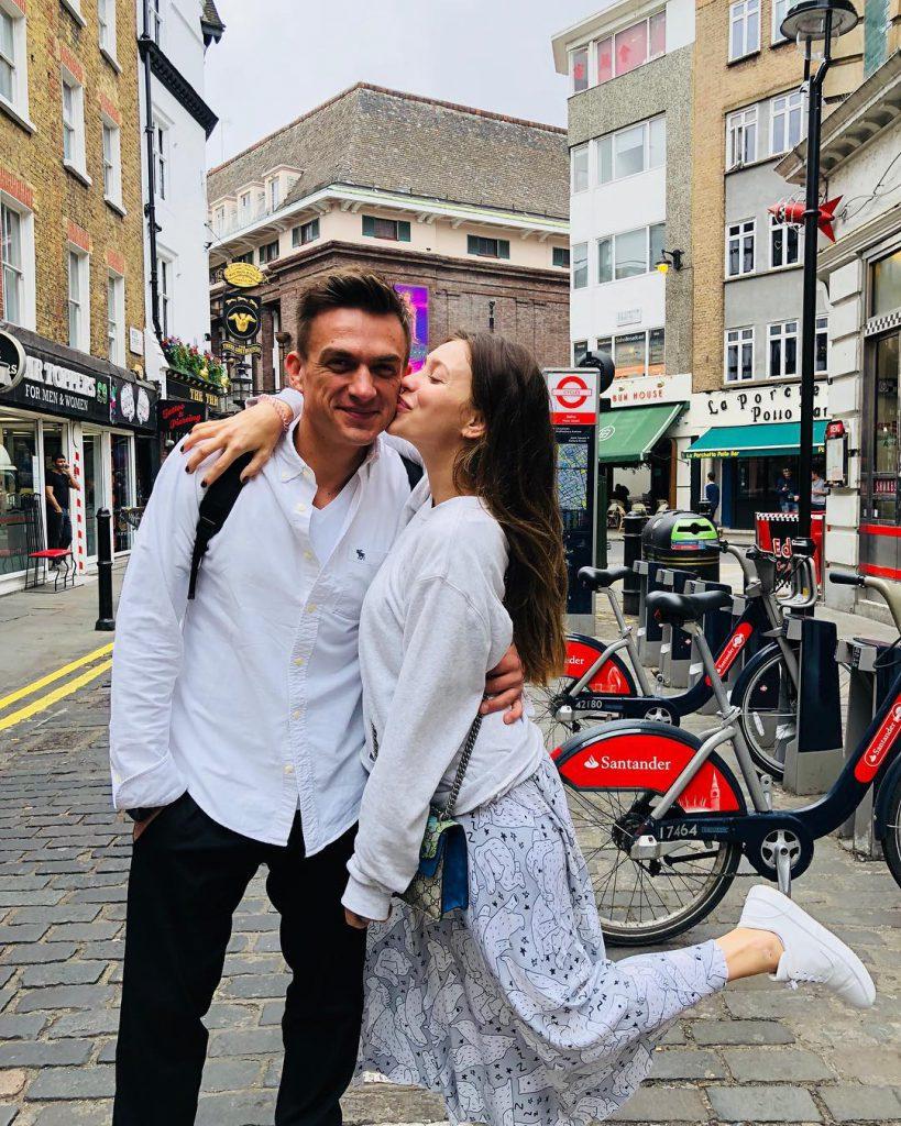 Влад Топалов и Регина Тодоренко в Лондоне