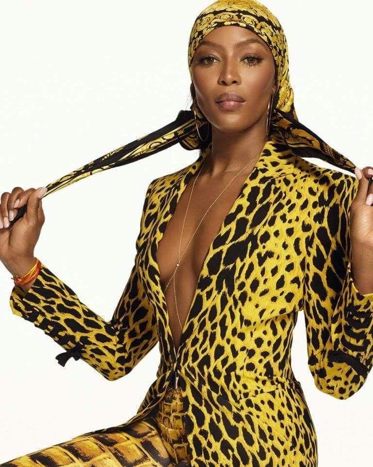 Наоми Кэмпбелл для Versace